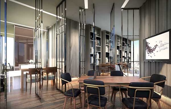 Ashton-Residence-41-Bangkok-condo-for-sale-meeting-room-and-library